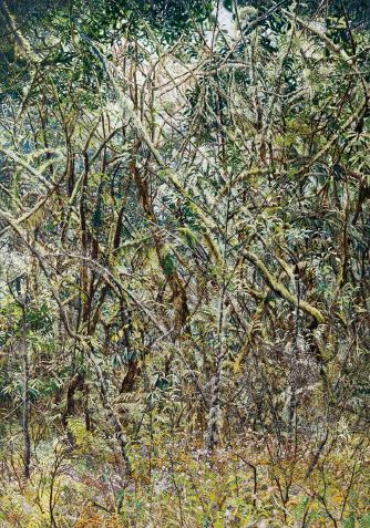 Forest03, 2015, Oil on canvas, 259x182cm