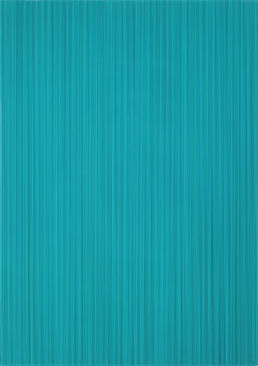 Who Likes Aqua?, 2017, Acrylic on epoxy resin, aluminum frame, 92x65x6cm