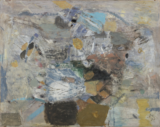Untitled, 1977, Mixed media, 80x100cm