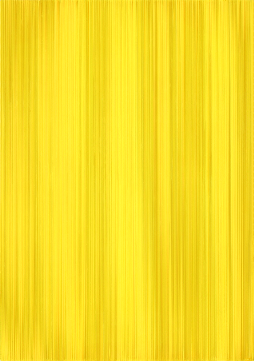 Who Likes Yellow?, 2017, Acrylic on epoxy resin, aluminum frame, 92x65x6cm