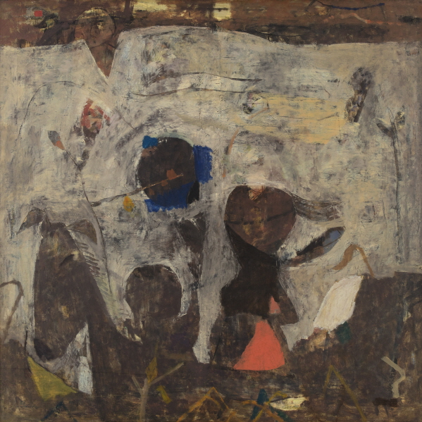 Untitled, 1972, Mixed media,113x113cm