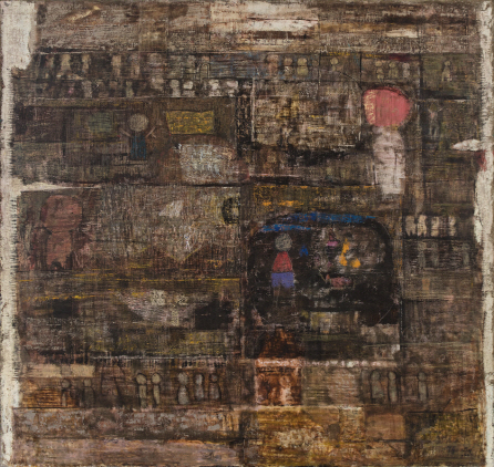 Untitled, 1976, Mixed media, 146x146cm