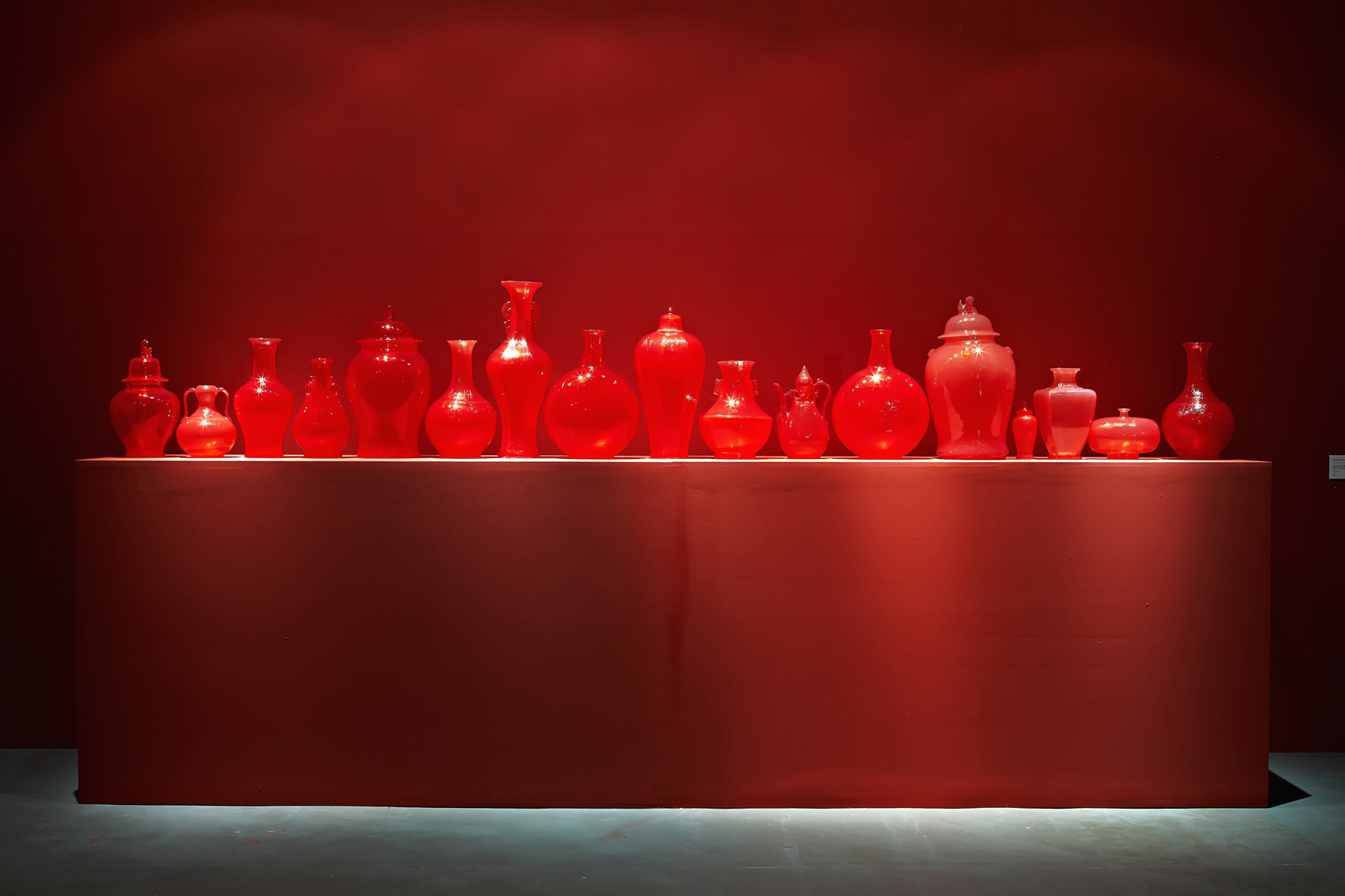 Translation-Ghost Series(Red), 2007-ongoing, Soap, varnish, fragrance, Dimensions variable