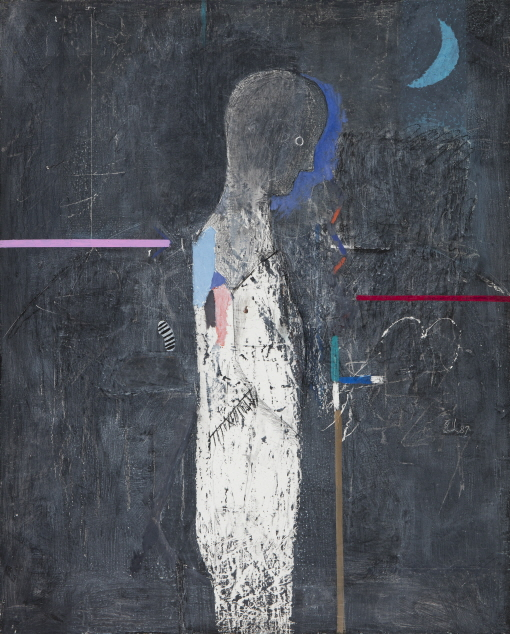 Untitled, 1991, Mixed media, 91x73cm