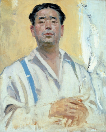 Self-Portrait, 1963, Oil on canvas, 75x60cm