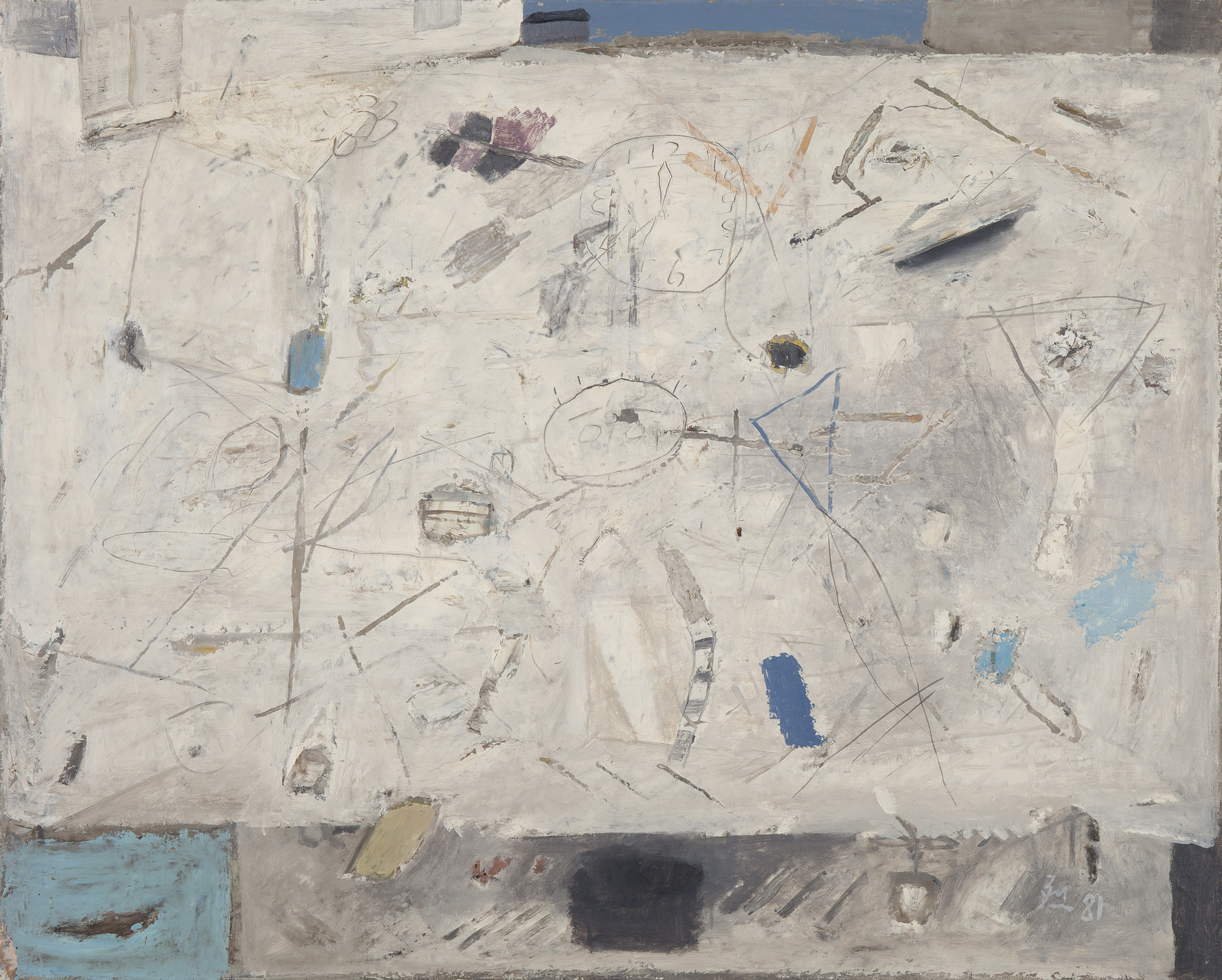Untitled, 1981, Mixed Media, 80x103cm