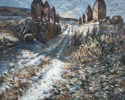 An Old Path, 2012, Oil on canvas, 181.8x227.3cm