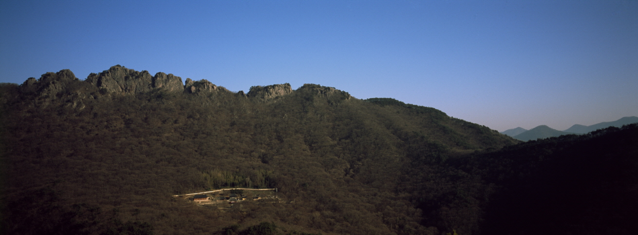 Naejangsan National Park. Jeongeup-si, Jeollabuk-do, SOUTH KOREA, 2006, Pigment Print,  57 1/16x21 1/8 inches