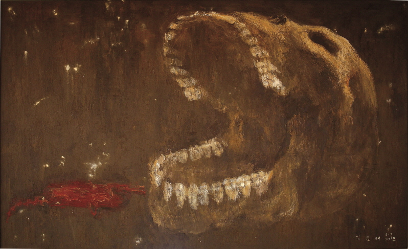 Song of the Bones, 1998, Oil on canvas, 162.2x259cm
