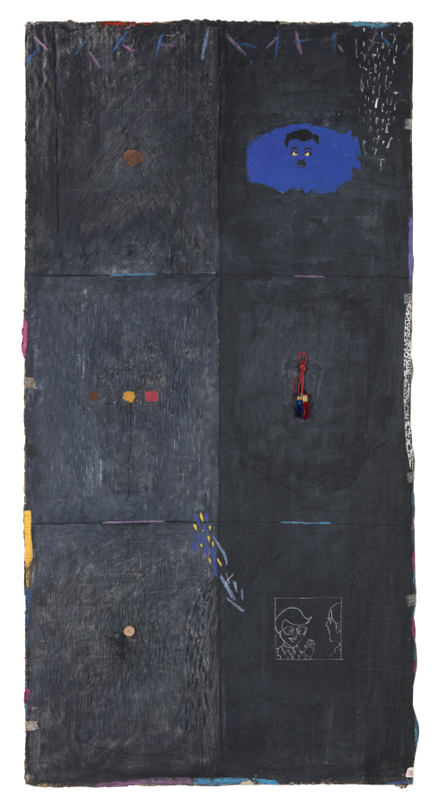 Untitled, 1988, Mixed media, 176x89cm