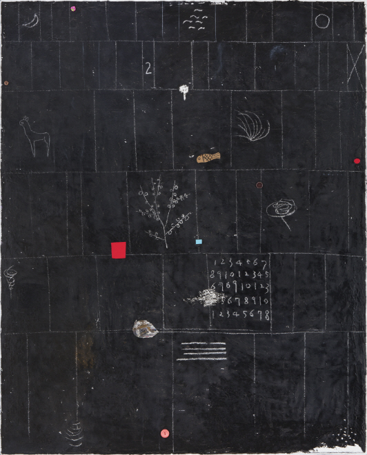 Untitled, 2015, Mixed media, 162x130cm