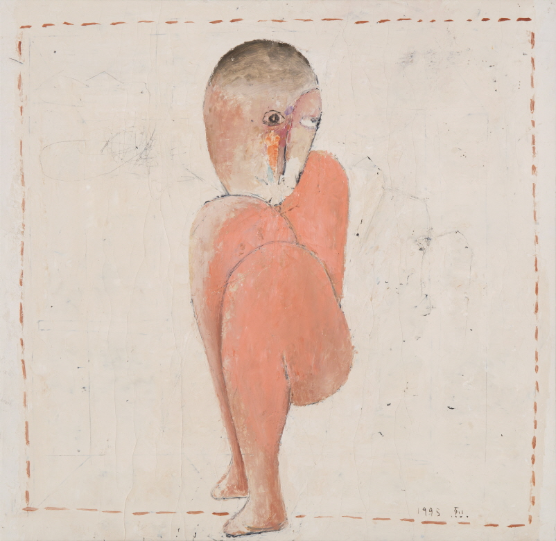 Untitled, 1995, Mixed media, 60x59cm