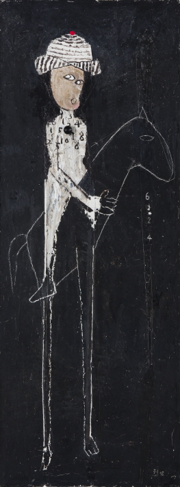 Untitled, 1998, Mixed media, 121x45cm