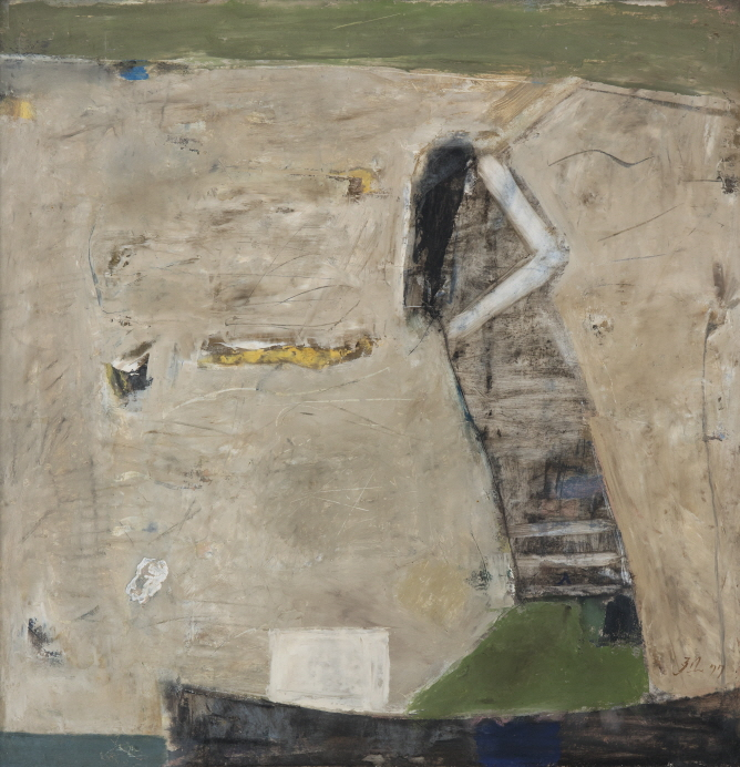 Untitled, 1977, Mixed media, 63x63cm