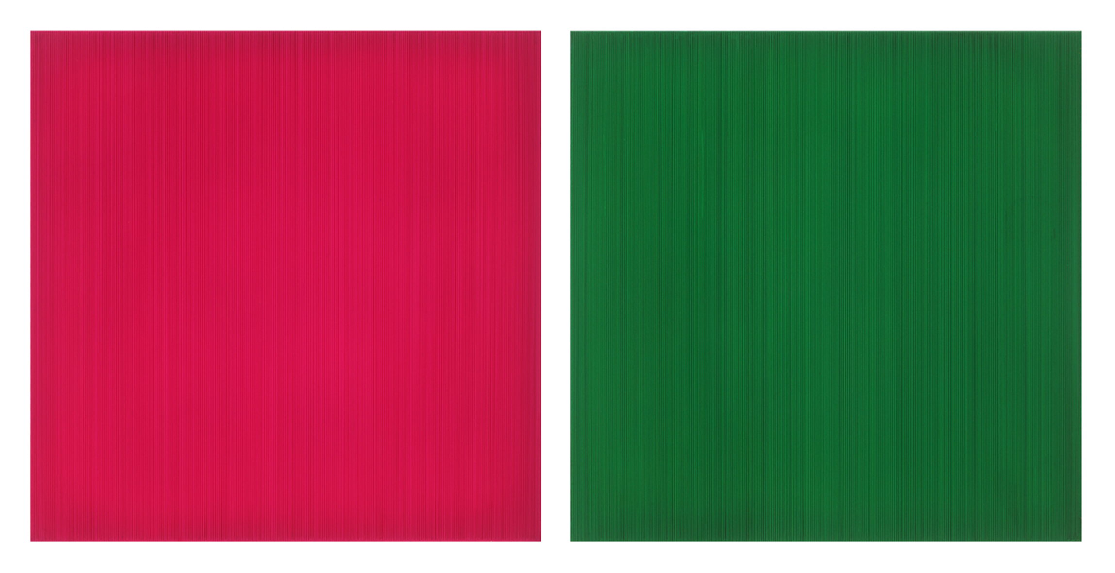 Who likes K magenta, green?, 2016, Epoxy resin, acrylic color, wooden frame, 72.5x72.5x8cm.jpg