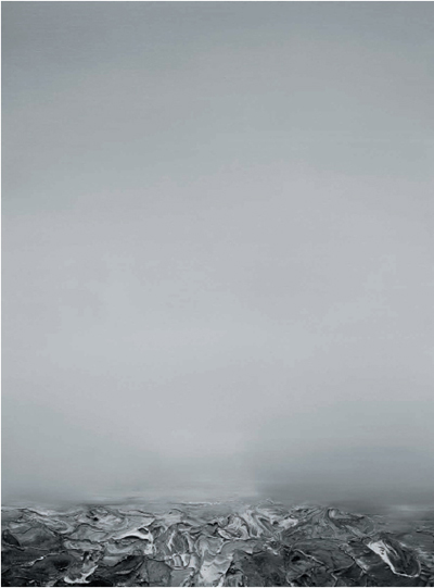 Yin Qi Sea 2006.5.6 (海 2006.5.6) 2006 Oil on canvas 200x140cm