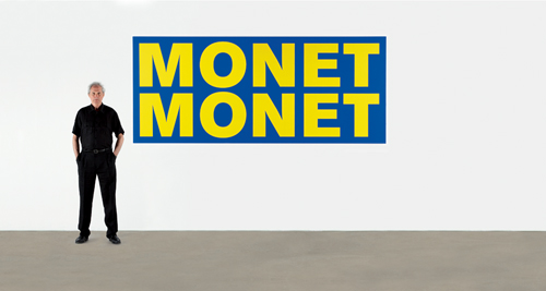 Jean-Pierre RAYNAUD MONET 2008 Serigraphy on dibond 126.8x300cm