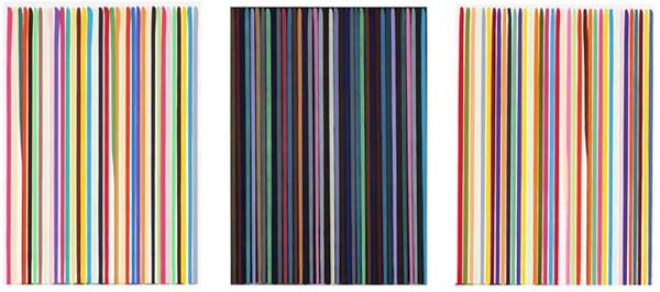 Ian DAVENPORT Etched the Lines