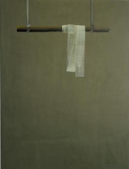 SONG Hyunsook 21 brushstrokes 2004 Tempera on canvas 200x150cm