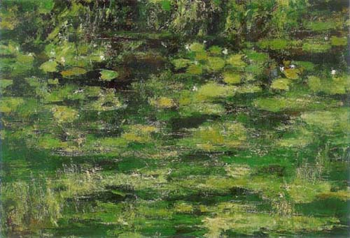 KANG Yo-bae Pond 2001 Acrylic on canvas 112.1x162.2cm