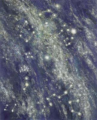 KANG Yo-bae Milky way  2001 Acrylic on canvas 162.2x130.3cm
