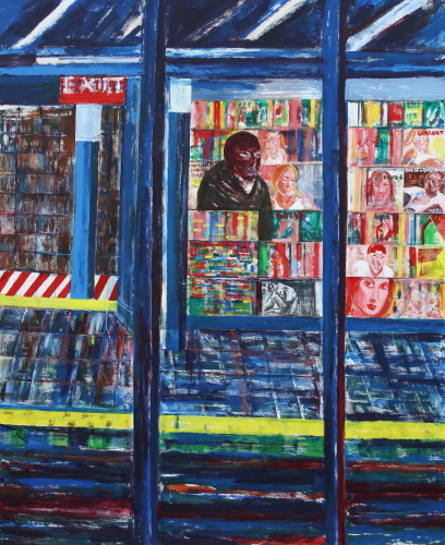 SUH Yongsun Convenience Store 2010 Acrylic on canvas 213X175cm