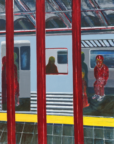 SUH Yongsun Subway Station 2 2011 Acrylic on canvas 226x178cm