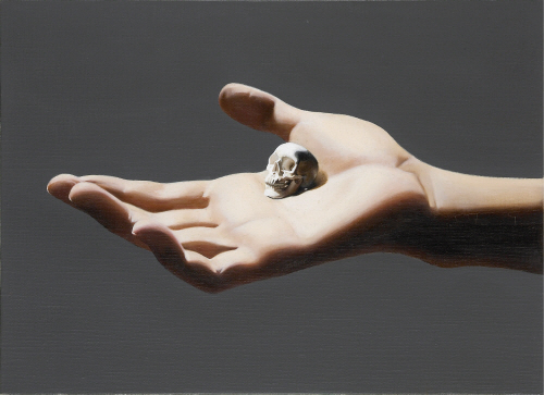 Kyoung Tack Hong Present  2010  Oil on canvas 24.3x33.4cm