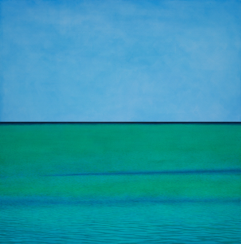 KIM Bo Hie  Towards 2013  Oriental color on canvas 300x300cm