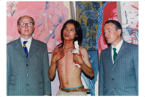 Dialogue with Gilbert and George, 1993, C-print, 50.8x60.9cm