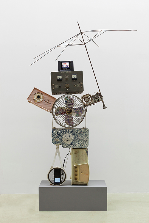 Self Portrait(Eskimo Man),1995,Mixed Media,160x125x100cm