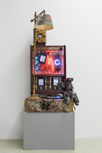 Nostalgia is an Extended Feedback, 1991, 165x78.74x34cm